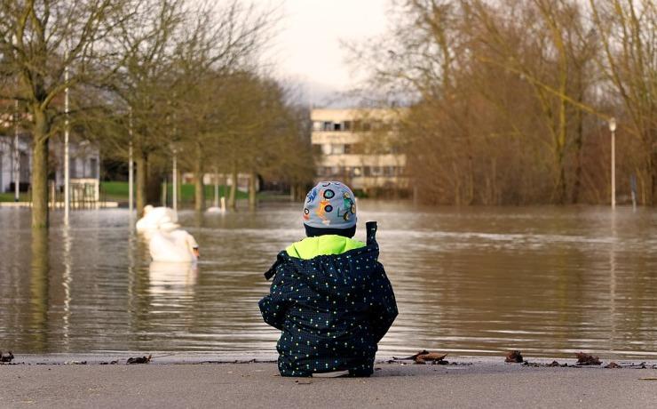 niño inundacion